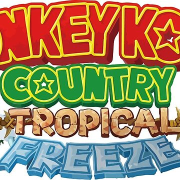 Donkey Kong Country Tropical Freeze  by samuelobrown