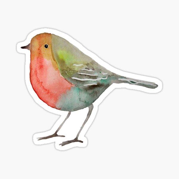 Rotkehlchen / Robin Sticker