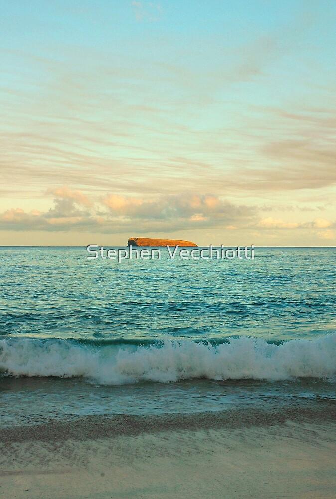 Molokini At Sunrise, Maui by Stephen Vecchiotti