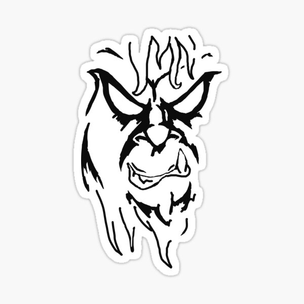 Beware The Bigfoot Sticker
