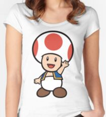 Toad Women's Fitted Scoop T-Shirt