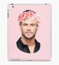 Chris Hemsworth Flower Crown iPad Case/Skin