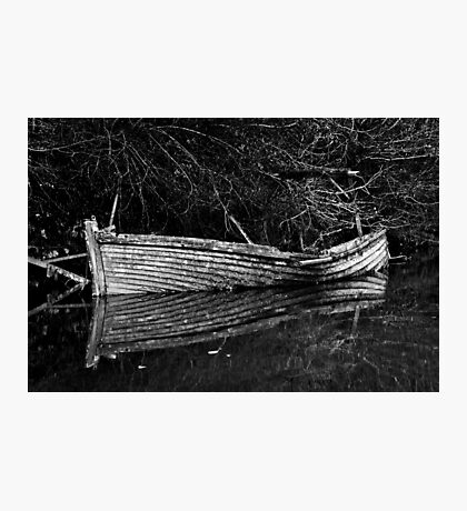 Shimmering Wreck Photographic Print
