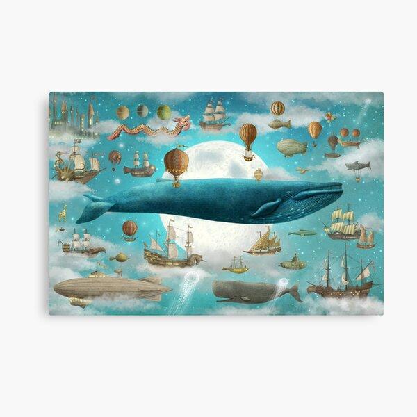 Ocean Meets Sky - Option Canvas Print