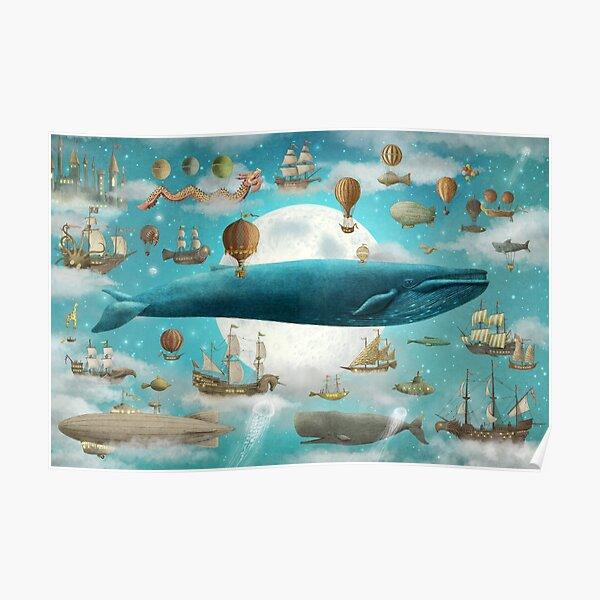 Ocean Meets Sky - Option Poster