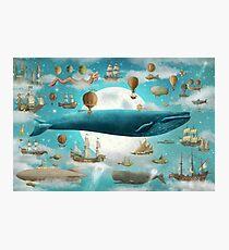 Ocean Meets Sky - Option Photographic Print