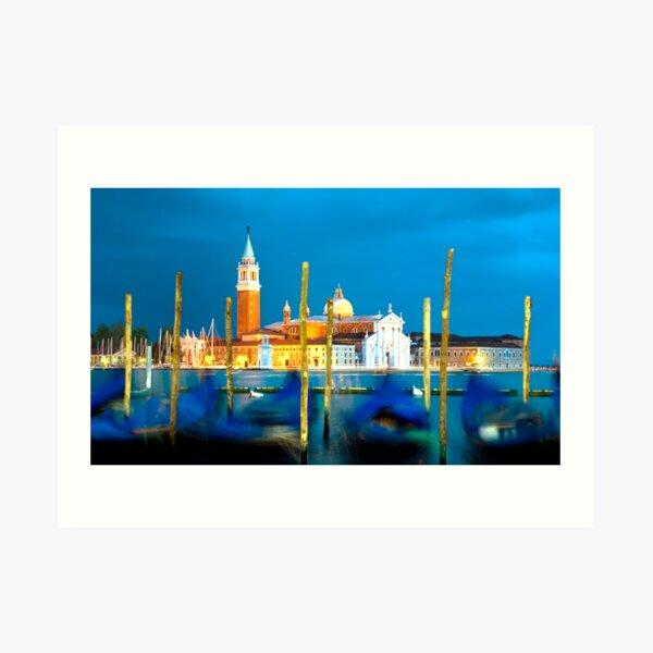 Venice Dusk Art Print