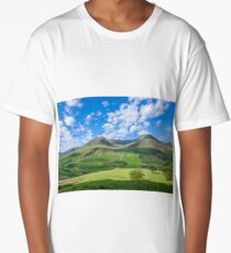 Lake District landscape in spring Long T-Shirt