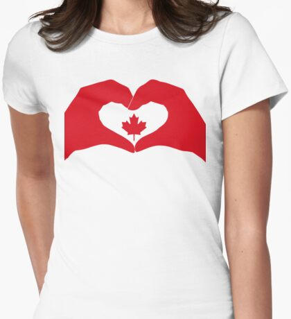 We Heart Canada Patriot Flag Series 1.0 T-Shirt
