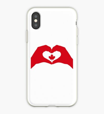We Heart Canada Patriot Flag Series 1.0 iPhone Case