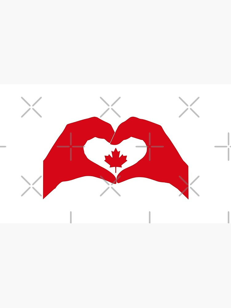 We Heart Canada Patriot Flag Series 1.0 by carbonfibreme