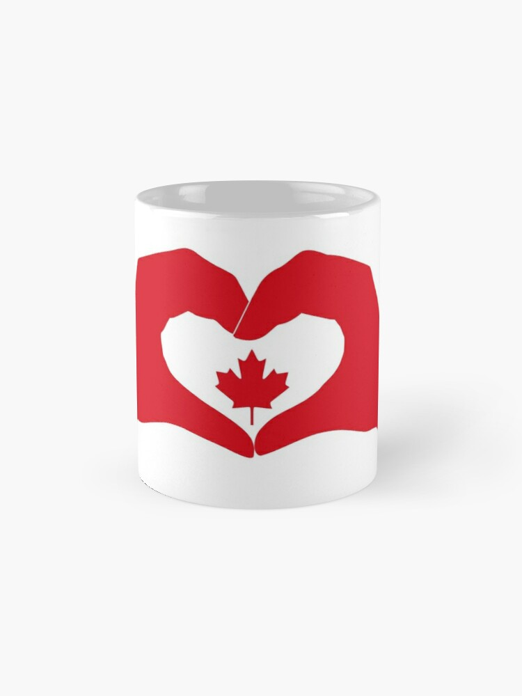 Alternate view of We Heart Canada Patriot Flag Series 1.0 Mug