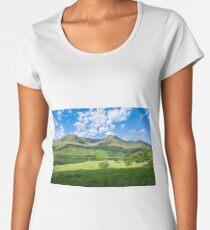 Lake District landscape Women's Premium T-Shirt