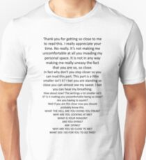 Nosy Readers Unisex T-Shirt