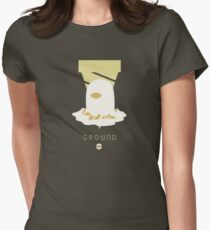 Pokemon Type - Ground Women's Fitted T-Shirt