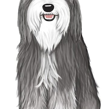 Bearded Collie by ShortCoffee