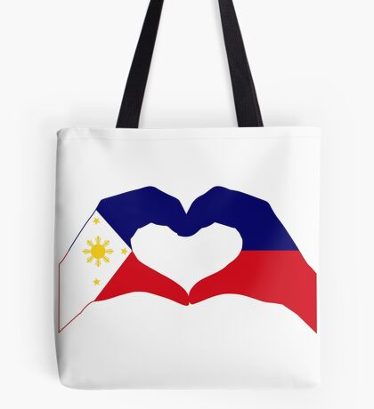 We Heart Philippines Patriot Series Tote Bag