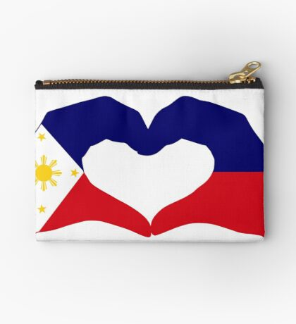 We Heart Philippines Patriot Series Zipper Pouch