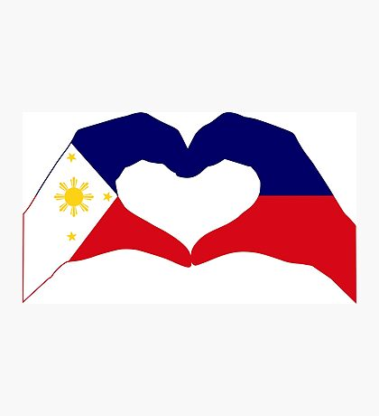 We Heart Philippines Patriot Series Photographic Print