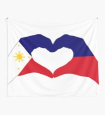 We Heart Philippines Patriot Series Wall Tapestry