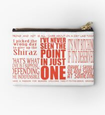 Serena Campbell quotes Studio Pouch