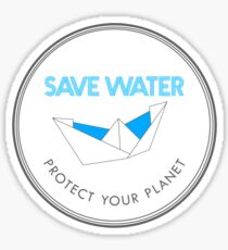 Save Water Protect Your Planet Sticker