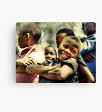 Boys of Busia - Proud (repaired) Canvas Print