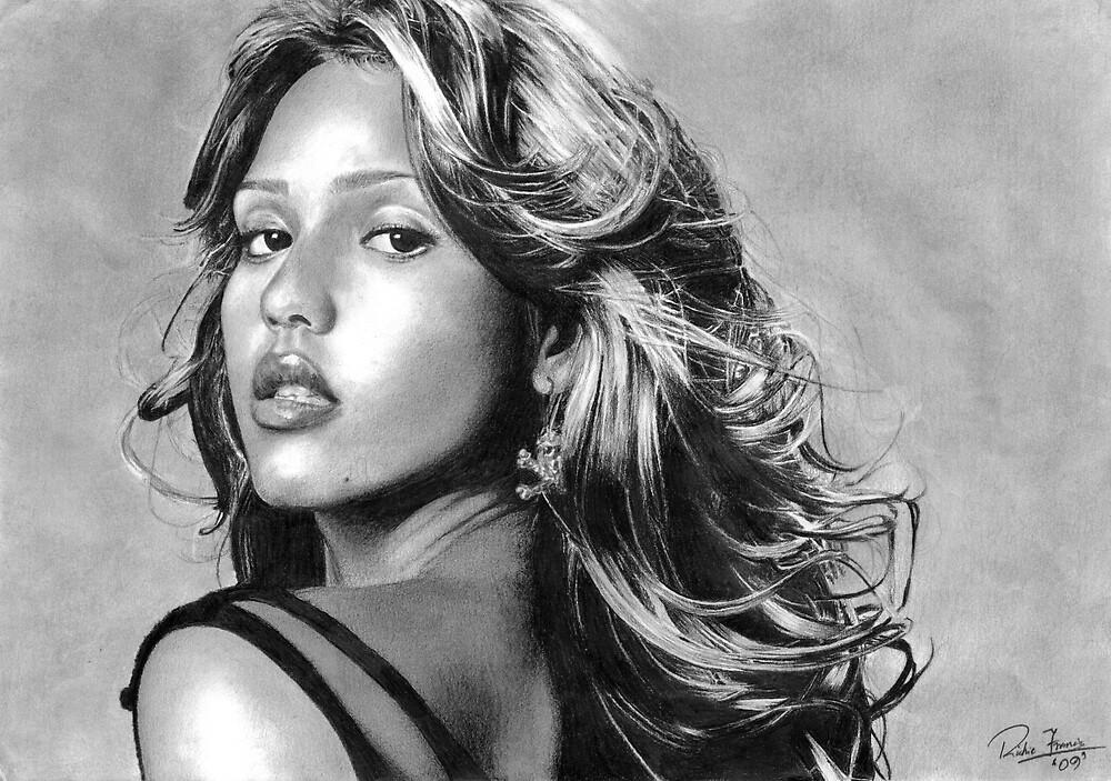 Jessica Alba by Richie Francis