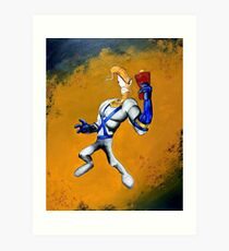 Earthworm Jim  Art Print