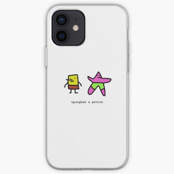 Spongebob & Patrick (spungbab & petruk) iPhone Soft Case