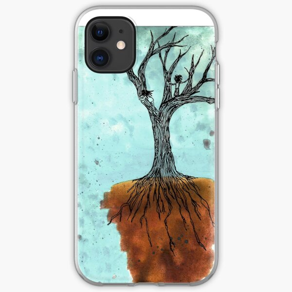 Watching the Sky Fall at the End of the World iPhone Soft Case