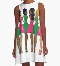 AKA Sorors A-Line Dress
