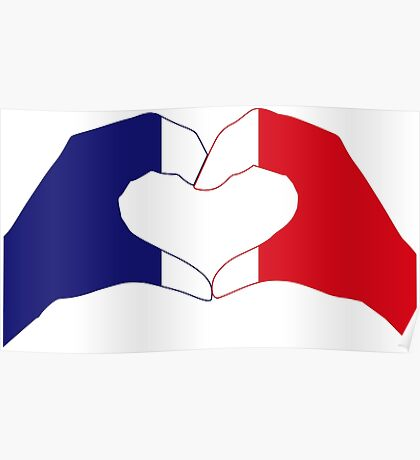 We Heart France Patriot Series Poster