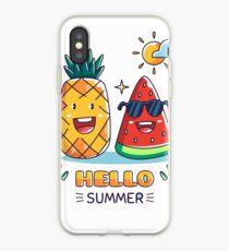 Summer T-shirt iPhone Case