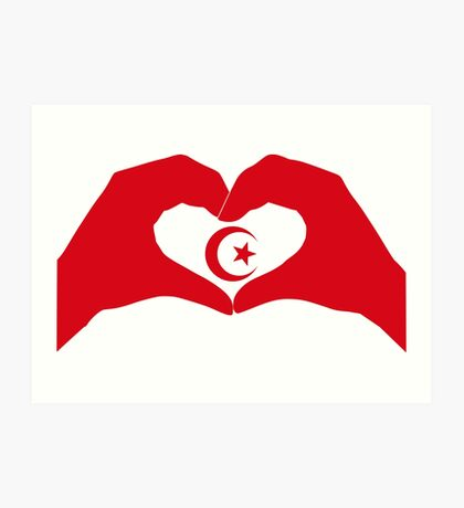 We Heart Islam Patriot Series Art Print
