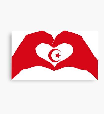We Heart Islam Patriot Series Canvas Print