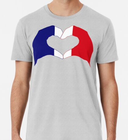 We Heart France Patriot Series Premium T-Shirt