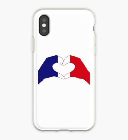 We Heart France Patriot Series iPhone Case