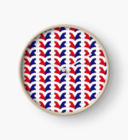 We Heart France Patriot Series Clock