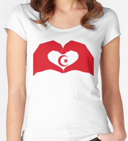 We Heart Islam Patriot Series Fitted Scoop T-Shirt