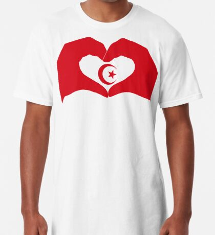 We Heart Islam Patriot Series Long T-Shirt