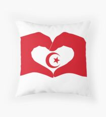 We Heart Islam Patriot Series Throw Pillow