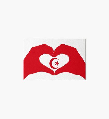 We Heart Islam Patriot Series Art Board Print