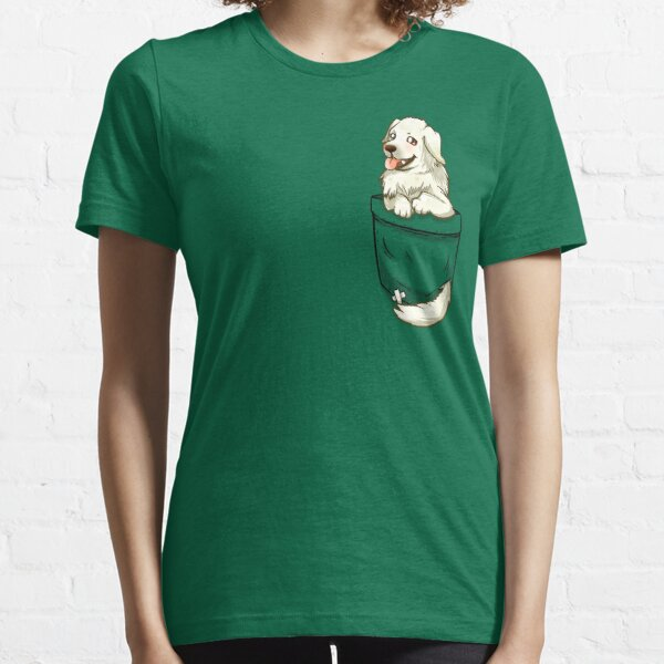 Pocket Great Pyrenees Dog Essential T-Shirt