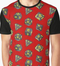 Red Gaming Dice Graphic T-Shirt