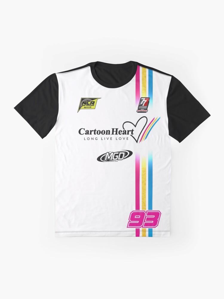 "Alternate view of NLR ""Sim Shirt"" Dupre 93  Graphic T-Shirt"