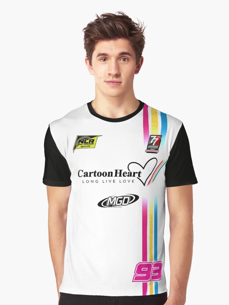 "NLR ""Sim Shirt"" Dupre 93  Graphic T-Shirt Front"