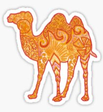 Camel in Warm Colours (Reuploaded) Sticker