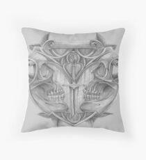 Heraldic Shield Throw Pillow