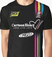 "NLR ""Sim Shirt"" Cartoon Heart #26 Graphic T-Shirt"